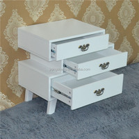Manufacturers Ivory Painted Pine Paulownia Wood Drawer Cabinet 1 Chest With Drawer