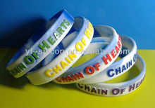 Political silicone wristbands Promotional Embossed/Printed/Debossed Bracelet