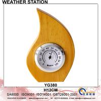 Wooden Weather Station Barometer Decor YG380