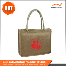 Widely Use Top Quality Plain Jute Shopping Bag