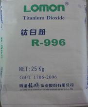 Titanium Dioxide TiO2 LOMON Rutile R996 LR108 for paints and plastic