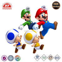 2015 new super mario bros, high quality plastic action figure
