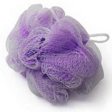 Newest Best-Selling purple pe bath sponge