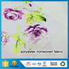 Good Receptivity Of Dyes And High Printability Polyester Nonwoven Fabric