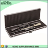 OEM silvery handle wholesale aluminum gun case