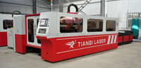 2015 hot sale Fiber laser cutting machine for3-8mm thickness metal pipe and sheet