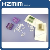 medical plastic ligation hemolok clips, laparoscopic hem-o-lok polymer ligation clips, hem-o-lok clips