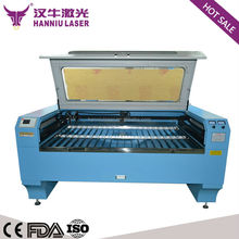 a4 paper wood K-1310T double laser heads co2 laser cutting machine/cutters