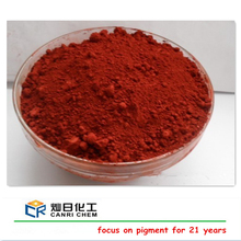 Factory sell 325 mesh iron oxide red 130 for wood chips mulch