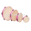 chino de instrumentos de percusión pandereta de china