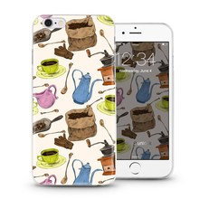 Funny summer ocean design mobile shell case for Apple iPhone 5 6 plus, for LG G4, for any mobile you want