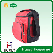 Dongguan Factory Manufacture 420D Fabric Portable Food Delivery Outdoor Insulated lunch cooler bag