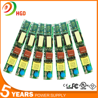 shenzhen factory 24w 18w 10w 9w Led Tube light drivers t5 t8 t10 switching power supply