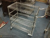 Profile stainless steel metal storage shelf