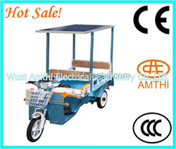 adult electric tricycle, electric tricycle with passenger seat, electric rickshaw
