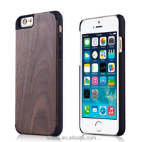 Best Selling Products Blank Wood Case for iPhone 6 with Big Camera Hole Plastic Case