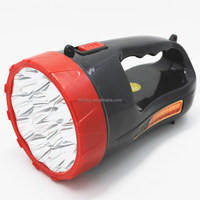 15led 1W bulb high quality rechargeable led flashlight portable searchlight led bright light