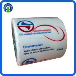 Transparent Custom PVC Sticker, Self Adhesive Transparent Sticker, Customized Clear Vinyl PVC Sticker