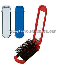 2012 New and Attractive Flexible Plastic Mirrors with Comb