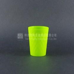 Colorful plastic disposable cup,300ml mini portable travel mug