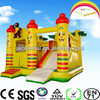 CILE OEM Smiling Face Monkey Inflatable Castle with Slide for Amusement Park