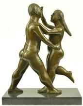 dancing couple Romance Lovers Art Deco Noveau Sculpture