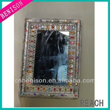 Gifts & Decor Elegant Antique Silver Hanging Accent Bed Room Hall Wall Mirror