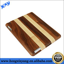 Real Handcarved Sustainable Thin Wood Case Cover For iPad 2/3/4 - Unique Design
