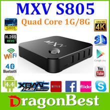 Original Amlogic S812 Quad Core T8 air mouse Plus 14.2 Kodi Free Arabic Channels MXV Android TV BOX