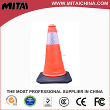 Soft Flexible Rubber Road Red Traffic Cone