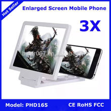 3X Mobile Phone Screen Magnifier Bracket Stand,NO.6 Enlarged Screen Mobile Phone