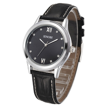 Sinobi 8100 Hot sale stone index black business watch