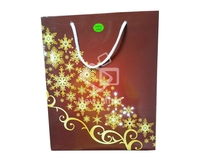Led Christmas Light Paper Bag