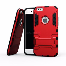 Armor Kickstand Hybrid Rubber Hard Case Cover Skin For iphone 6 plus 4.7 and 5.5