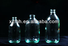 100ml clear glass infusion bottle