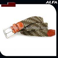 Snake Buckle Elastic Belt Cotton Belt