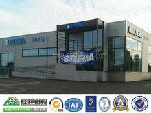 prefabricada modular de estructura de acero de compras centro comercial