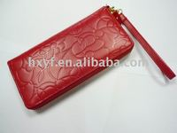 leather wallet / purse for woman