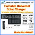 Alta capacidade carregador solar universal para o portátil, câmera, computador e assim por diante produtos
