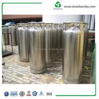 GB 175L Liquid Nitrogen Cryogenic Gas Cylinder , Liquid Nitrogen Dewar Flask For Sale