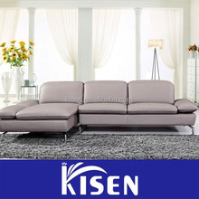 Home furniture living room modern chaise lounge sofa