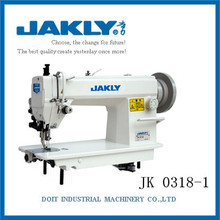 JK0318-1 Have excellent mechanical capacity High-speed Heavy Duty Top and Bottom Lockstitch Industrial Sewing Machine China