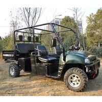 diesel farm utility track vehicle 4 seats