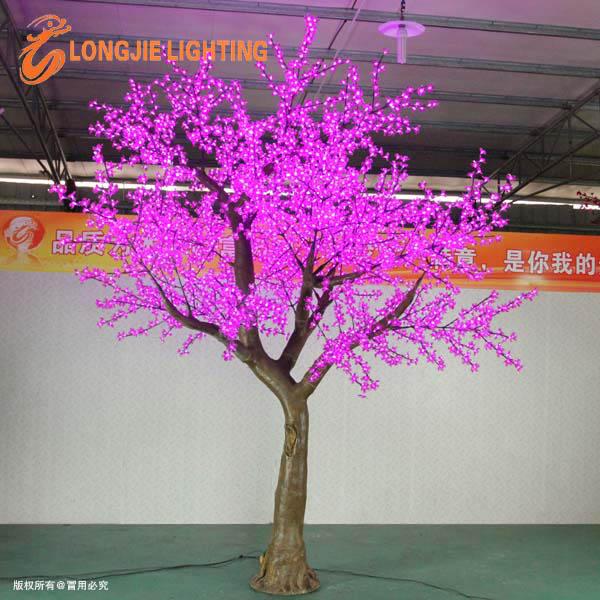 아름다운 휴가 야외 장식 조명 보라색 LED 나무-휴일 조명 -상품 ID ...