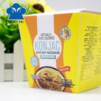 Wholesale Snacks Vegetarian Cup Konjac Instant Noodles