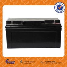 Emergency lighting system security system backup system battery 12v agm lead acid battery