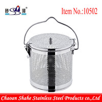 12 inch stainless Steel spice soup basket