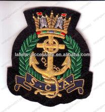 Bullion blazer badge custom beautiful design 2015 army officer rank insignia