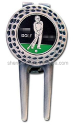 Golf club golf divot tool for leisure using golf equipment