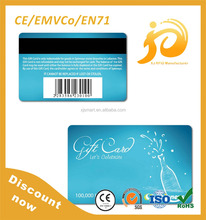 Fast Delivery Printed RFID Plastic Credit card